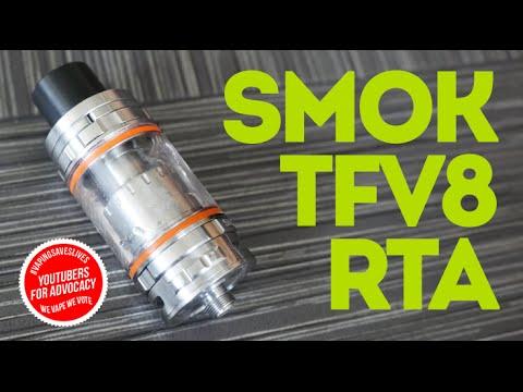 Smok TFV8 ~ RTA Base ~ Wicking