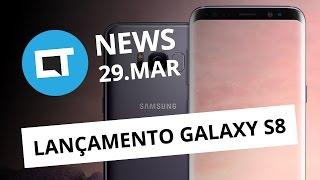 Lançamento do Galaxy S8; Fim da TV analógica; transplante de cabeça e + [CTNews]