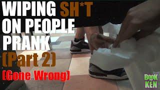 Wiping Sh*t On People Prank! Part 2 - Bathroom Pranks Gone Wrong