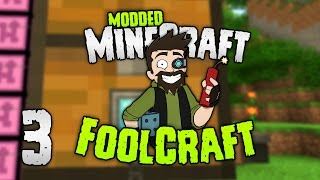 Minecraft: FOOLCRAFT | #3: TIME TO GET BLING! [Modded Minecraft]