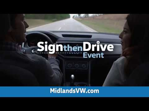 Midlands Volkswagen Sign & Drive