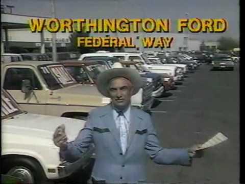 Cal Worthington flies high 1984