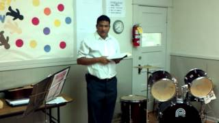 Pastor Yacob Monger - 22 July 2012 - Roanoke Nepali Church.3gp