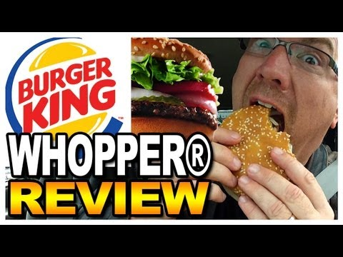 "Burger King WHOPPER® Sandwich Meal Review - ""It"