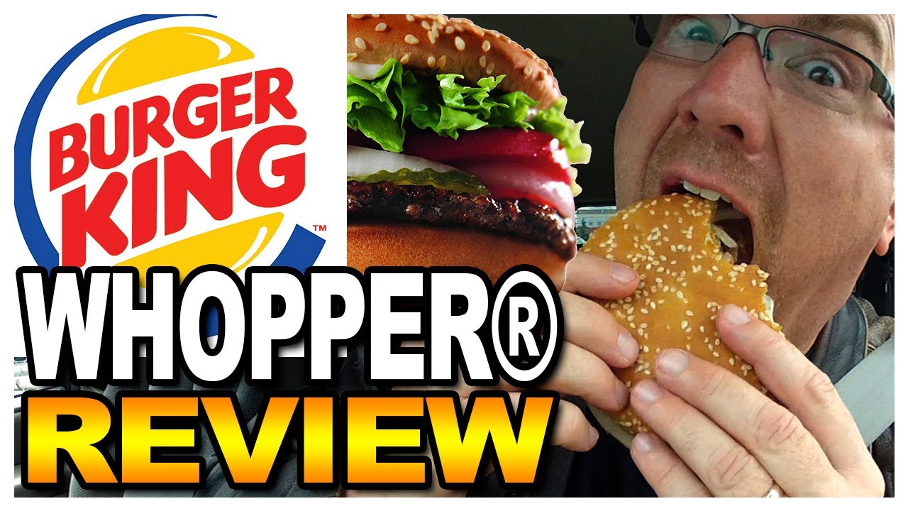 Burger King WHOPPER® Sandwich Meal Review ????????