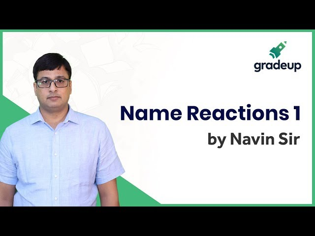 Aldehyde and Ketone: Name Reactions 1 | Organic Chemistry | JEE Main Jan 2019