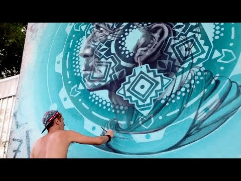 Echoes In Turquoise - Art Basel 2015