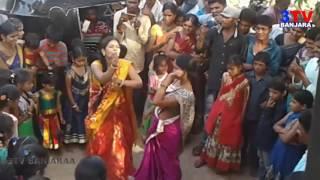 Marriage Barat  Break Dance By Banjara Womens on DJ Song   // 3TV BANJARAA