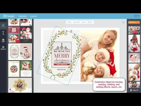 How To Make A Personalized Christmas Card Online