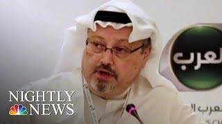 Saudis Admit That Jamal Khashoggi Is Dead | NBC Nightly News