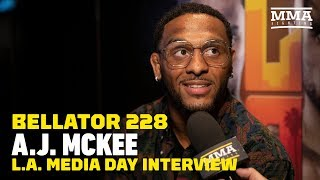 A.J. McKee Believes Bellator Is 'Protecting' Patricio Pitbull - MMA Fighting