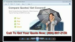Compare Auto Insurance Rates Atlanta GA | Call 404-907-2138