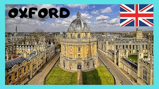 A walking tour of historic Oxford, England