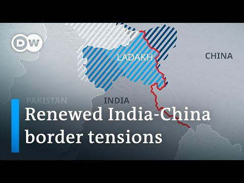 India and China trade blame over border shots | DW News