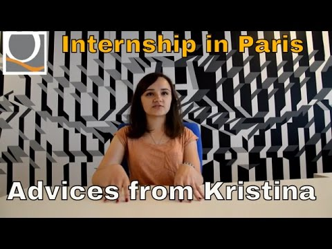 Internship in Paris