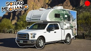 Building a Truck with Camper! - Scrap Mechanic Live Stream thumbnail
