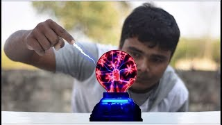 5 Awesome Science Experiments With Plasma Ball in Hindi