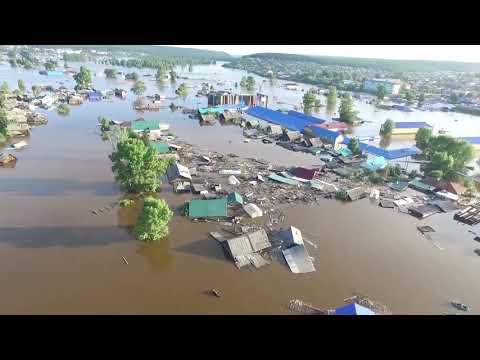 Апокалипсис наводнение в Иркутской области, Тулун, Нижнеудинск 2019