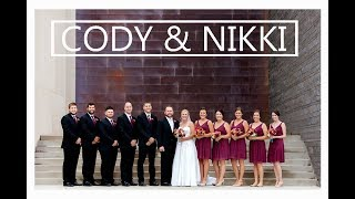 Cody & Nikki wedding, Heritage Center in Bismarck ND by pricelessstudio.com