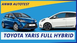 ANWB test Toyota Yaris Full Hybrid