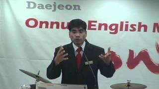 Pastor Bhoj Raj Bhatta preaching, Love your enemies - Part 1
