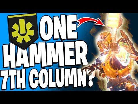 Destiny 2 - 1 Hammer 7th Column? WTF - 10 Kill Super / Top 5 Insane Super Plays - Episode 69 thumbnail