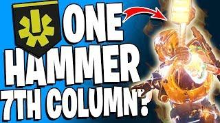 Destiny 2 - 1 Hammer 7th Column? WTF - 10 Kill Super / Top 5 Insane Super Plays - Episode 69