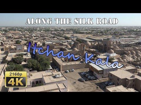 Khiva from above - Uzbekistan 4K Travel Channel