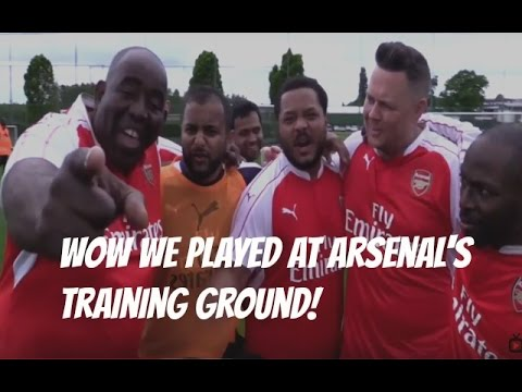 WOW!!! We Played At Arsenal's Training Ground!