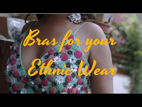 Lingerie With Your Ethnic Wear | What To Wear Under What | Zivame Bra Haul | Cherry Jain