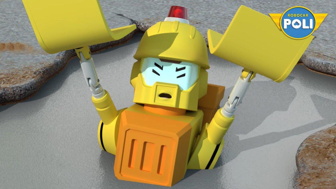 Download Robocar POLI Season 1 | Ep. 03 Concrete Fuss | Robocar POLI TV