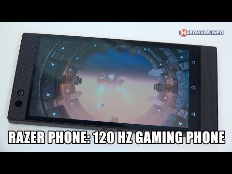 Razer Phone 120 Hz Android gaming telefoon review - Hardware.Info TV (4K UHD)