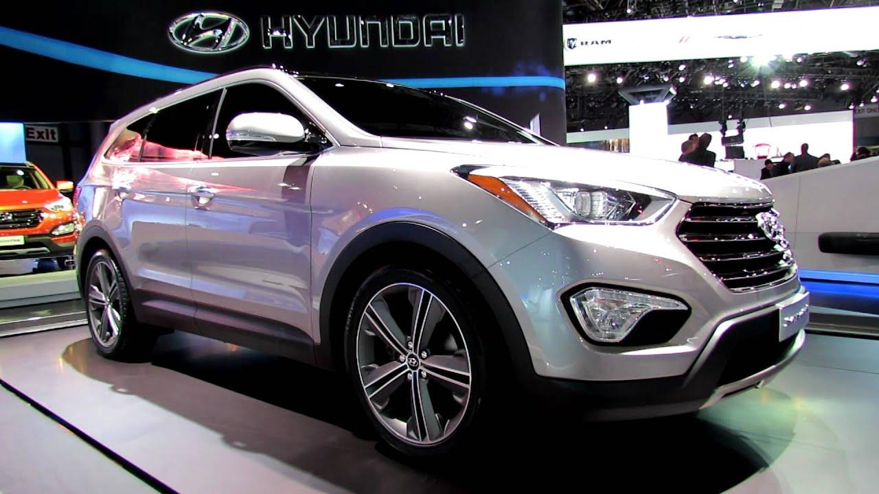 Hyundai Sante Fe 2018 >> 2013 Hyundai Santa Fe Long Wheelbase Exterior at 2012 New ...