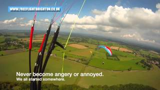 Climb to base ABC. How to thermal a paraglider