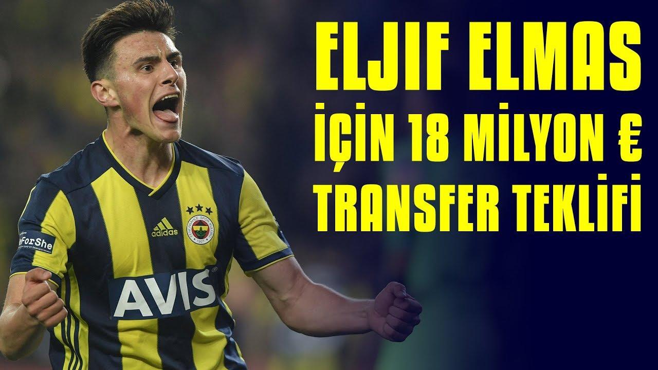 Eljif Elmas'a Inter'den Transfer Teklifi: 18 Milyon Euro