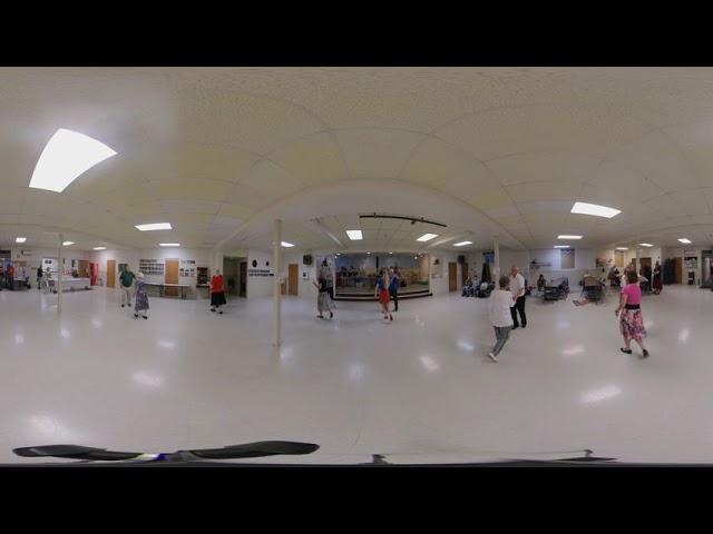 Orbiting Squares -- 9/6/19 -- Phyllis Burdette -- Waterloo -- 360 Degree Video