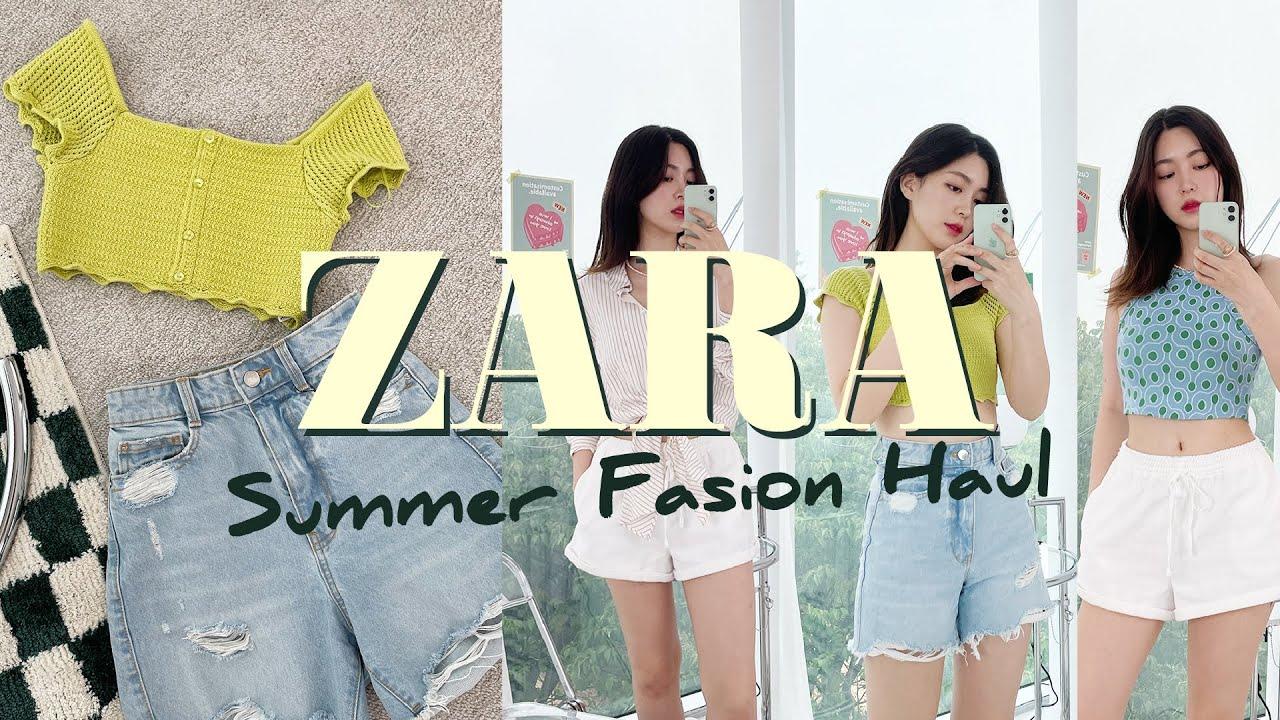 🍋상큼한 ZARA 여름 패션 하울 • 자라 여름 신상, 세일템 • 데일리와 바캉스 사이🏖 | CHES 체스