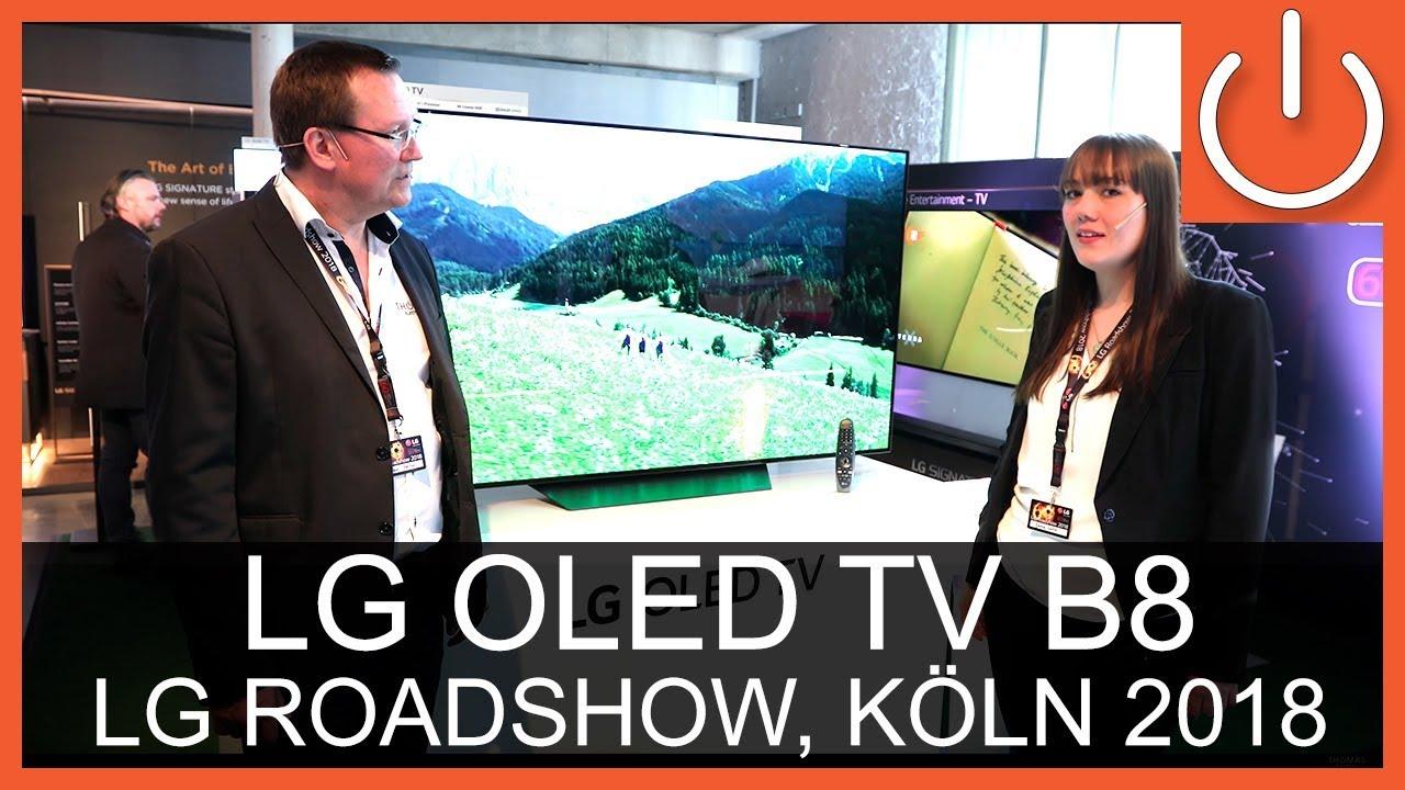 LG OLED55B8 - Roadshow - Thomas Electronic Online Shop - OLED65B8