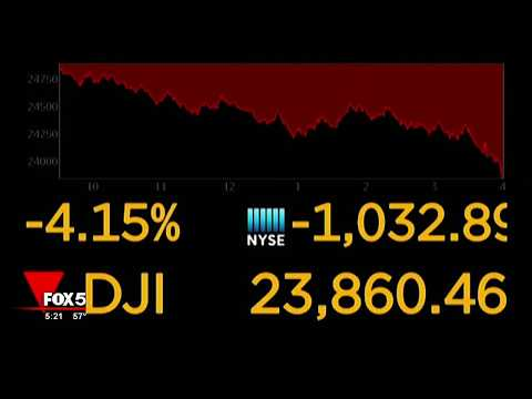Another bad day for the Down Jones industrial average