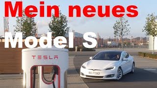 Mein neues Tesla Model S