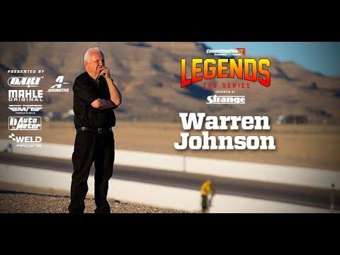 SEASON 4, LEGENDS: THE SERIES - THE LEGEND OF WARREN JOHNSON