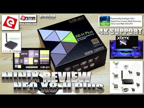 MINIX NEO X8-H Plus [REVIEW] UHD/4K, Android 4.4.2 Smart TV Box, 2GB/16GB, Mali-450
