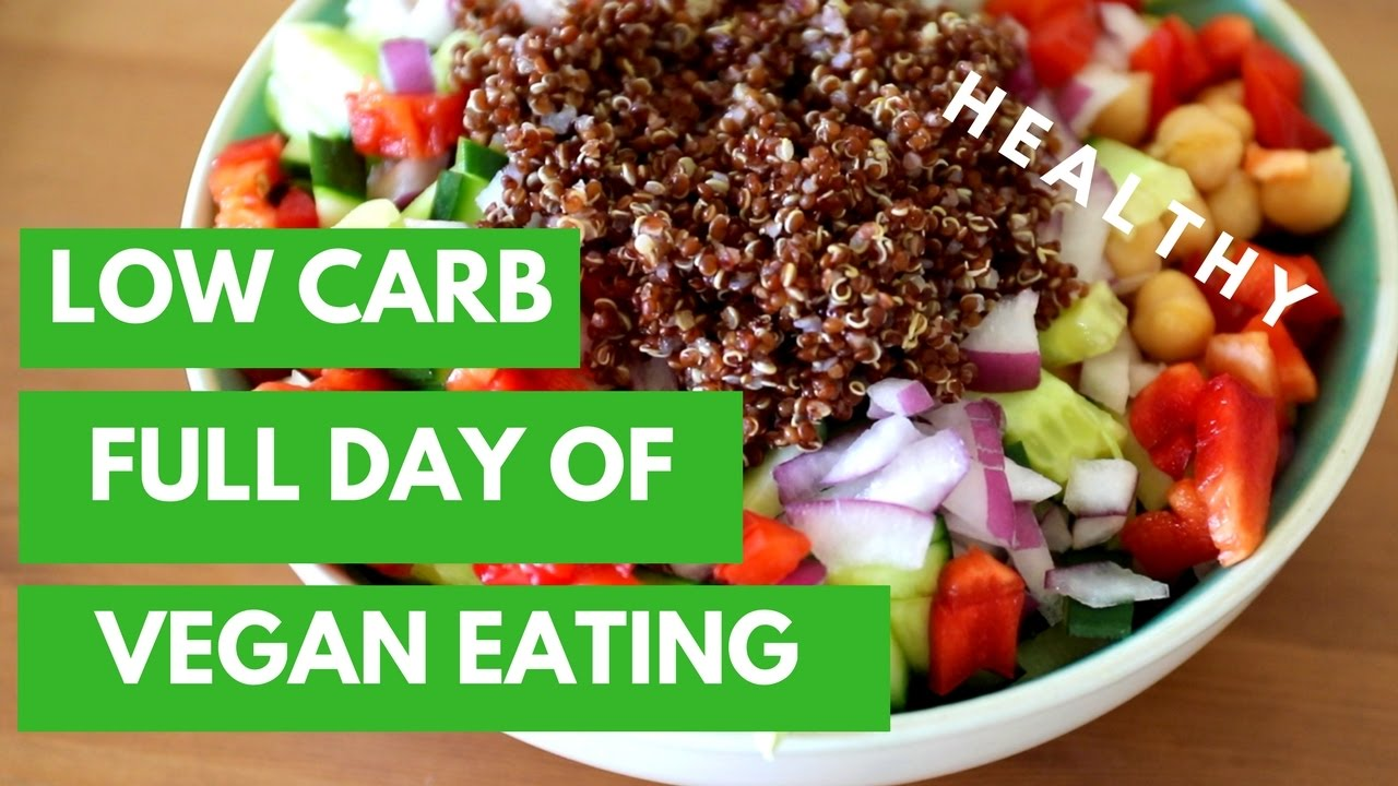 What to eat on a low carb vegan diet