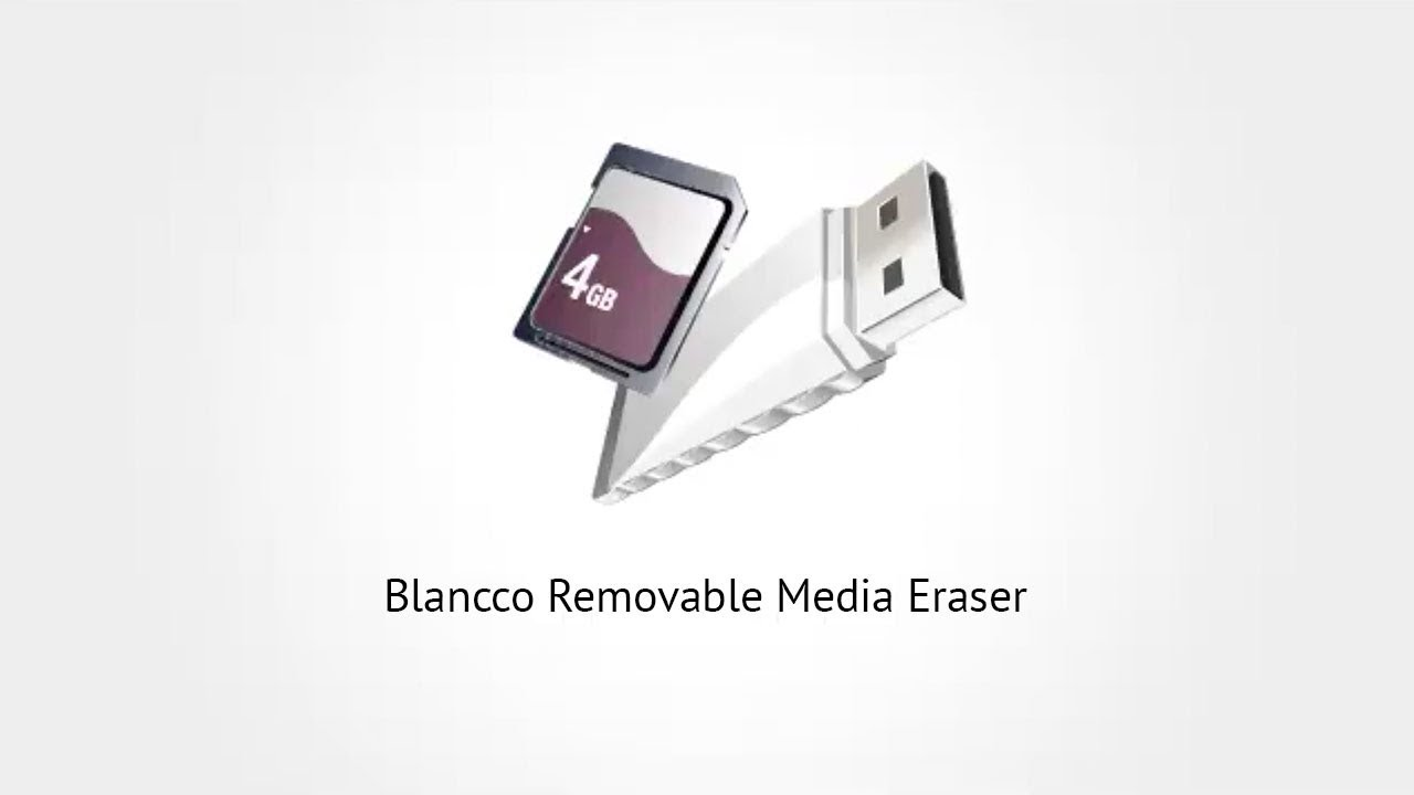 Blancco Removable Media Eraser: How to Erase USB Sticks & SD Cards