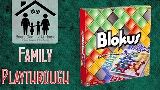 Blokus Family Playthrough (Gameplay Overview, Runthrough, & Review / Final Thoughts)