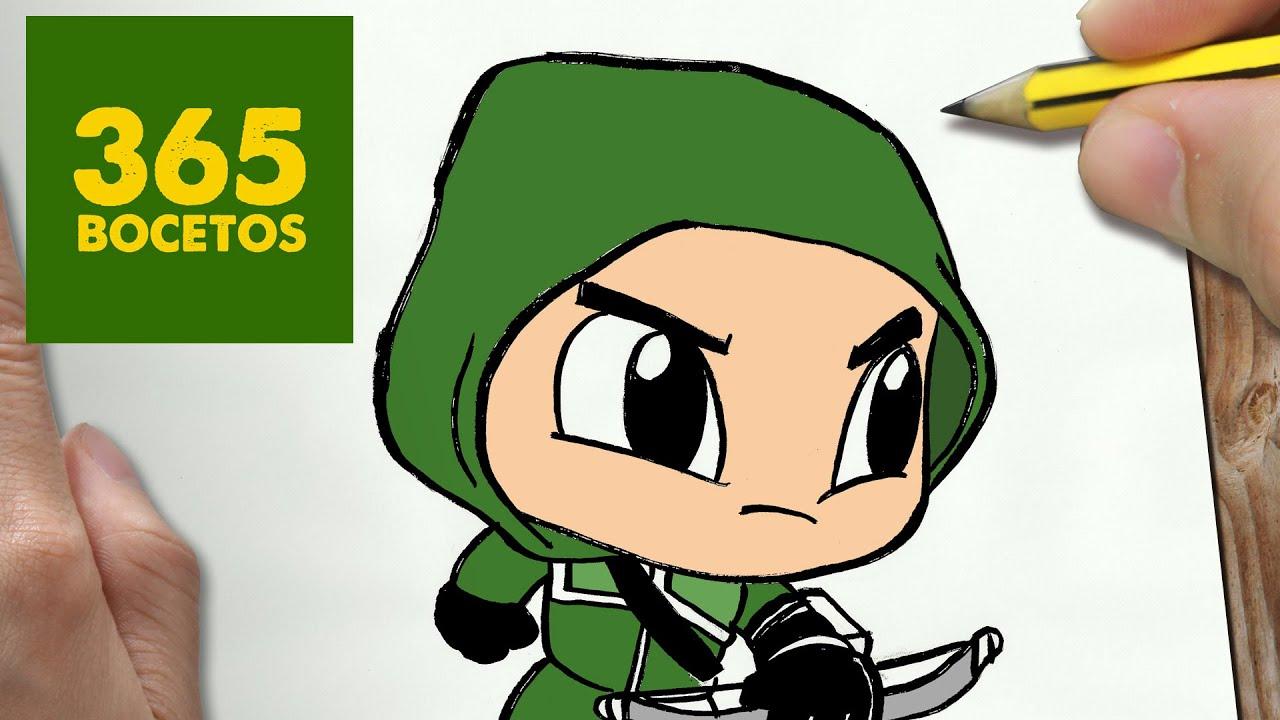 COMO DIBUJAR ARROW KAWAII PASO A PASO - Dibujos kawaii faciles - How ...