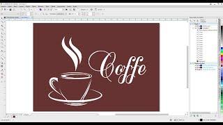 Curso Corel Draw Crie Logomarcas a Partir de Imagens Tutorial