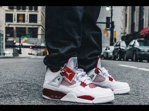 "76c9a904c9a Air Jordan 4 ""Alternate  89""  PREVIEW  + RELEASE INFO - YouTube"