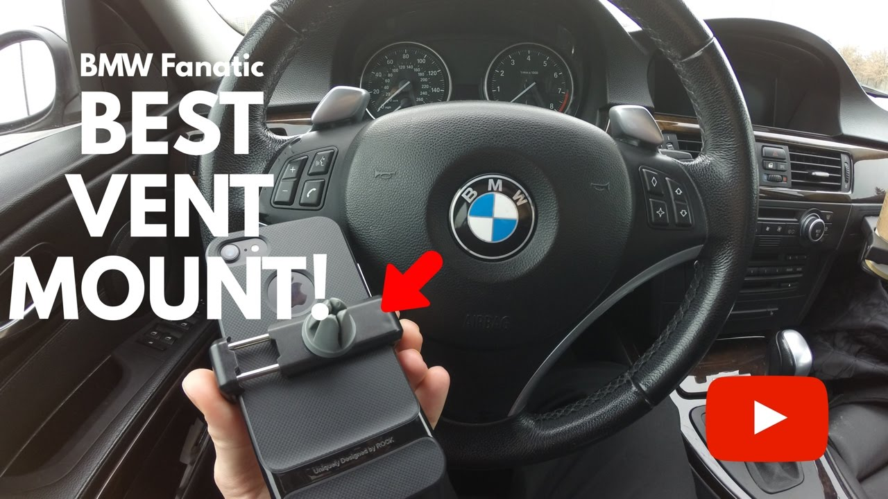 premium selection 516f8 73960 The Best BMW Phone Vent Mount Clip!
