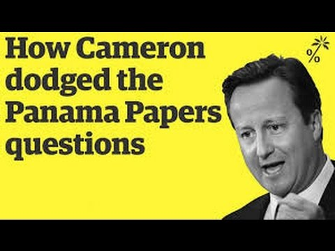 How David Cameron dodged the Panama Papers questions | The Panama Papers